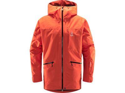 Haglöfs Lumi Insulated Jacket Men, habanero - Skijacke