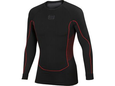 Sportful 2nd Skin LS Jersey, black - Unterhemd