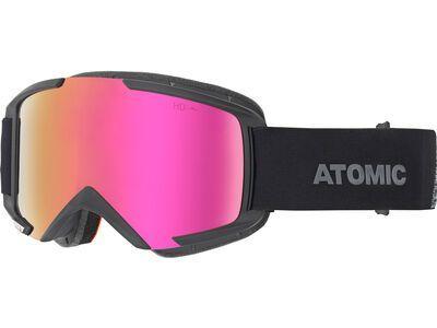 Atomic Savor HD OTG, black/Lens: pink copper hd - Skibrille