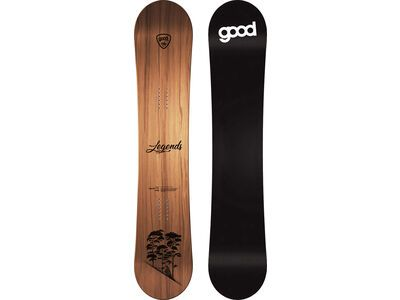 goodboards Legends Camber Mid-Wide 2020, kirsche - Snowboard