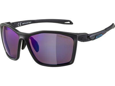 Alpina Twist Five Q-Lite Mirror Blue black matt