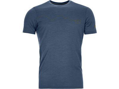 Ortovox 120 Tec Mountain T-Shirt M blue lake