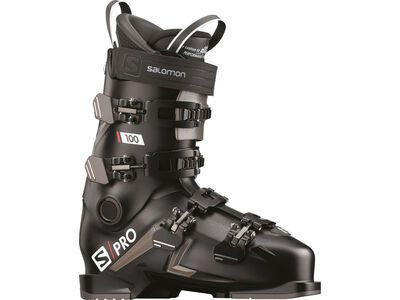 Salomon S/Pro 100 2021, black/belluga/red - Skiboots