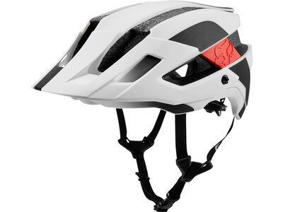 Fox Flux MIPS Conduit, white/black - Fahrradhelm