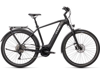 Cube Touring Hybrid Pro 625 2021, black´n´white - E-Bike