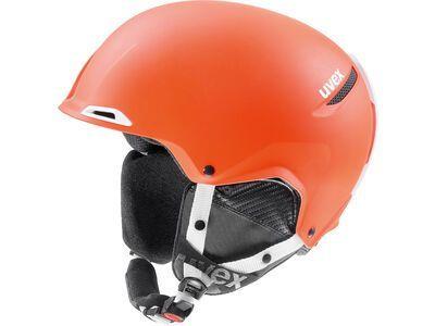 uvex Jakk+, orange-white mat - Skihelm