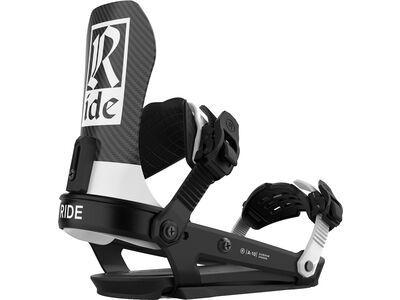Ride A-10 2021, classic black - Snowboardbindung