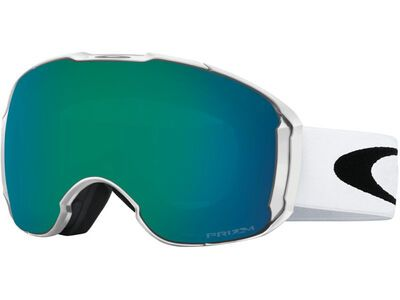 Oakley Airbrake XL Prizm + WS, white/Lens: jade iridium - Skibrille