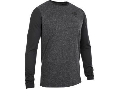 ION Tee LS Seek, black - Radtrikot