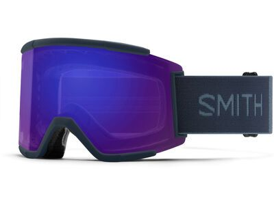 Smith Squad XL inkl. WS, french navy/Lens: cp everyday violet mir - Skibrille