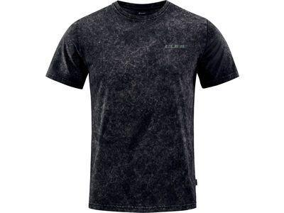 Cube Organic T-Shirt Gravity-Fit Fichtelmountains, black