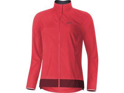 Gore Wear C3 Damen Gore Windstopper Classic Jacke hibiscus pink/chestnut red