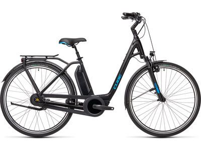 Cube Town Hybrid Pro RT 500 2021, black´n´blue - E-Bike