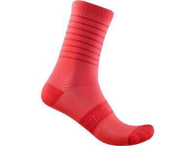 Castelli Superleggera W 12 Sock brilliant pink