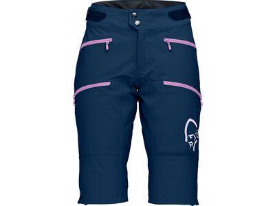 Norrona fjørå flex¹ heavy duty Shorts W's indigo night/violet tulle