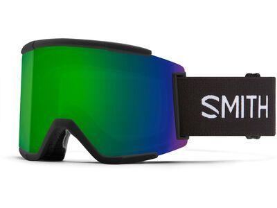 Smith Squad XL inkl. WS, black/Lens: cp sun green mir - Skibrille
