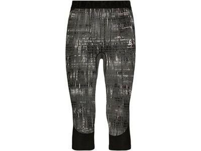 Odlo Blackcomb 3/4 Baselayer Pants, black - Unterhose