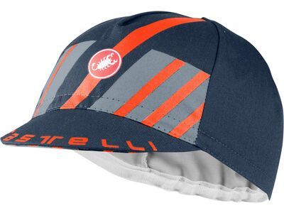 Castelli Hors Categorie Cap savile blue/light steel blue/brilliant orange