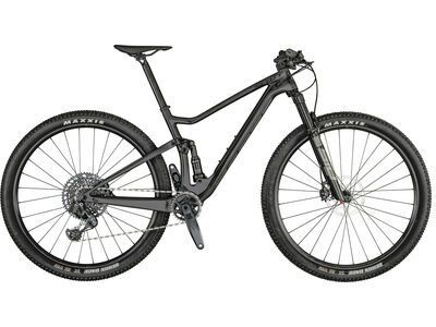 Scott Spark RC 900 Team Issue AXS 2021, carbon/brushed metall - Mountainbike