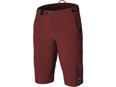 Rocday Roc Lite Shorts, dark red - Radhose
