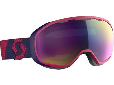 Scott Fix, deep violet/Lens: enhancer teal chrome - Skibrille