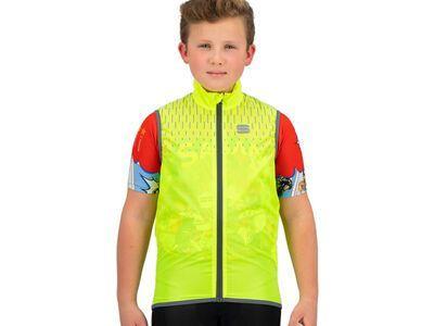 Sportful Kid Reflex Vest yellow fluo