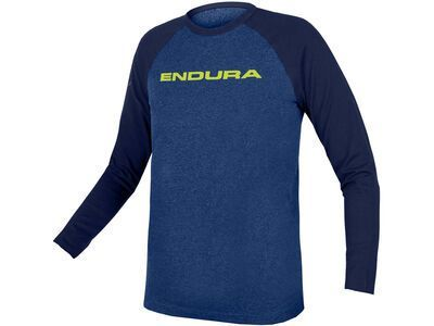 Endura Kids One Clan Raglan L/S, blue - Longsleeve