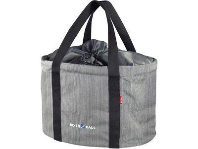 Rixen & Kaul Shopper Pro, grau meliert - Lenkertasche
