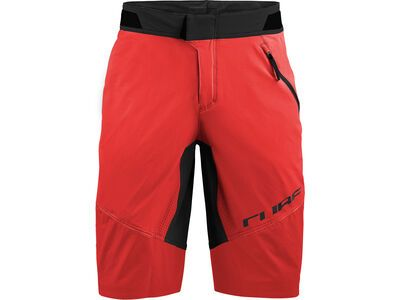 Cube Edge Baggy Shorts red