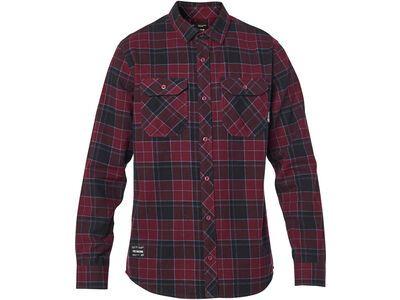 Fox Traildust 2.0 Flannel, cranberry - Hemd