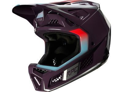 Fox Rampage Pro Carbon Helmet Daiz, dark purple - Fahrradhelm