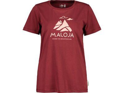 Maloja TurettaM., red monk - T-Shirt