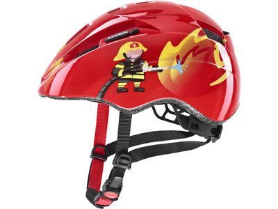 uvex kid 2 red fireman