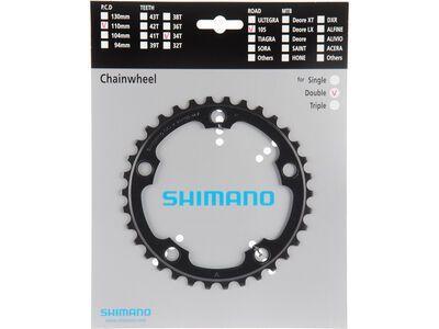 Shimano Kettenblatt für 105 FC-5750 - 34 Z, schwarz