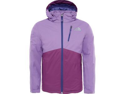 The North Face Youth Snowquest Plus Jacket, bellflower purple - Skijacke