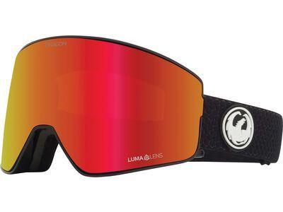 Dragon PXV2 - Lumalens Red Ionized, split/Lens: lumalens red ion