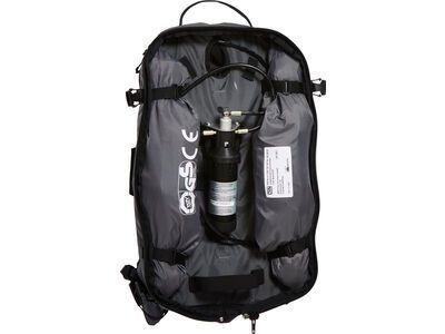 ABS s.Light Base Unit Compact ohne Auslöseeinheit, rock grey - Lawinenrucksack