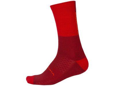 Endura BaaBaa Merino Winter Sock II rust red
