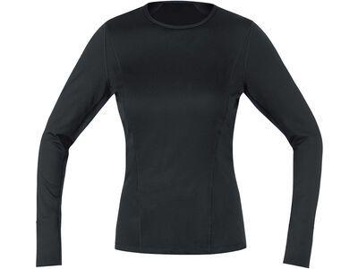 Gore Wear M Damen Base Layer Thermo Shirt Langarm black