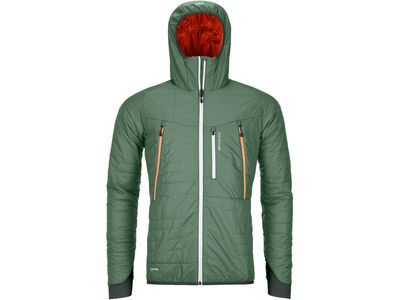 Ortovox Swisswool Light Tec Piz Boè Jacket M, green forest - Thermojacke