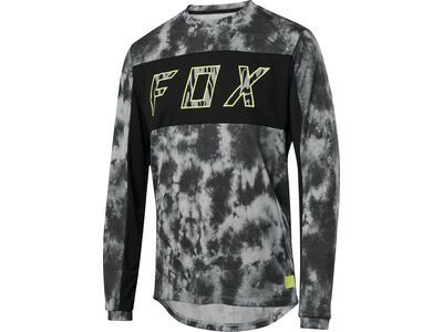 Fox Ranger Drirelease LS Elevated Jersey, black - Radtrikot