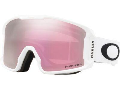 Oakley Line Miner XM Prizm, matte white/Lens: hi pink iridium - Skibrille