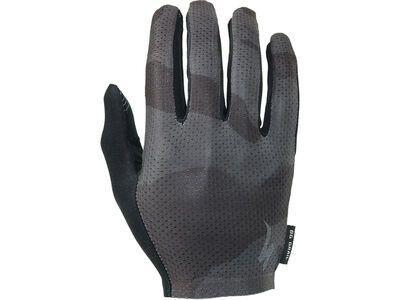 Specialized Body Geometry Grail Long Finger, black/camo - Fahrradhandschuhe