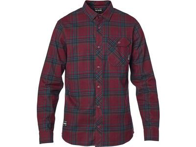 Fox Gamut Stretch Flannel cranberry