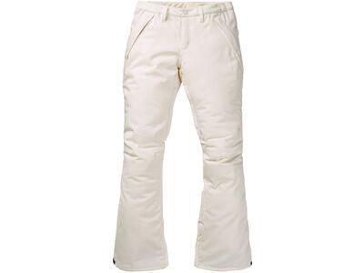 Burton Women's Society Pant, stout white - Snowboardhose