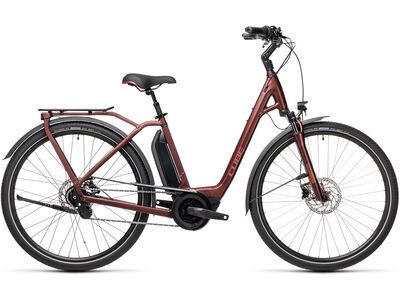 Cube Town Hybrid Pro 500 2021, red´n´red - E-Bike