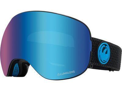 Dragon X2 - Lumalens Blue Ionized split