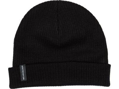 WearColour Rib Beanie, black - Mütze