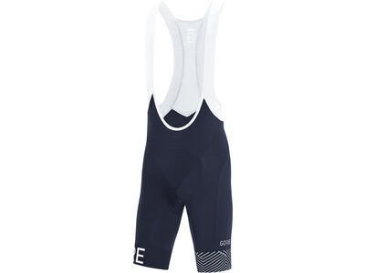 Gore Wear C5 Opti kurze Trägerhose+ orbit blue/white