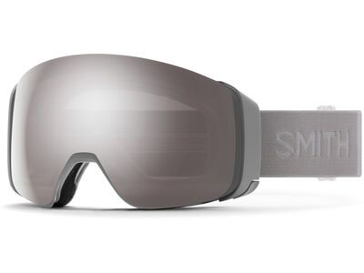 Smith 4D Mag inkl. WS, cloud grey/Lens: cp sun platinum mir - Skibrille